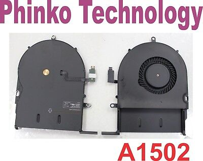 """NEW CPU Cooling Fan For Apple MacBook Pro A1502 13"""" Late 2013 ME864 ME865 ME866"""