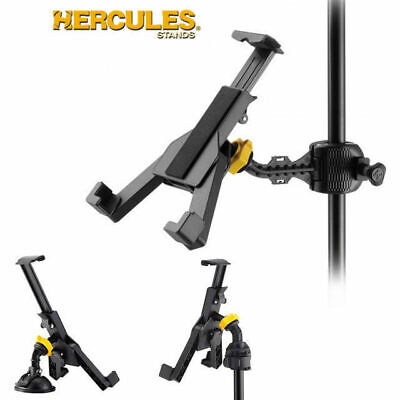 "Hercules DG305B iPad Tablet 3 Way Holder Clamp Cradle Stand Suit 7"" -12.1"""