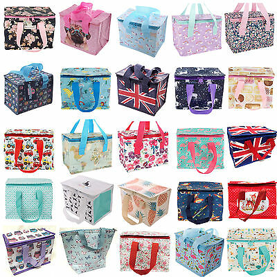 Childrens Kids Lunch Bags Insulated Cool Bag Picnic Bags School Lunchbox 43 Bags