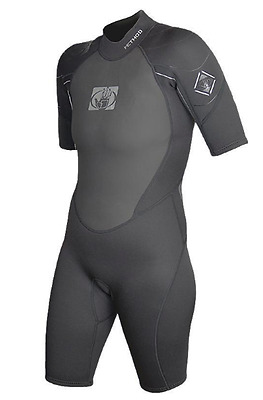 Body Glove Method 3mm Neoprene Mens Shortie Wetsuit Surf Paddle Sail Size S/M