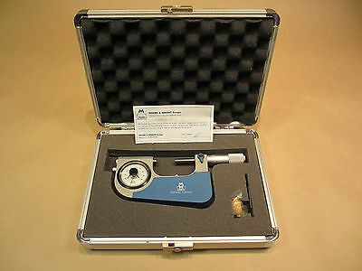 NEW - MOORE & WRIGHT - 25 - 50mm ANALOGUE SNAP MICROMETER