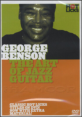 George Benson The Art Of Jazz Guitar Tuition DVD Learn How To Play
