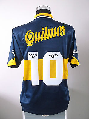 Diego MARADONA #10 Boca Juniors 90th Anniversary Football Shirt Jersey 1996 (M)