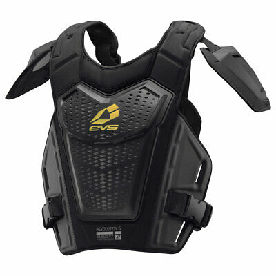 EVS REVOLUTION 5 Dirt Bike Roost/Chest Protector Adult/Youth BLACK or WHITE