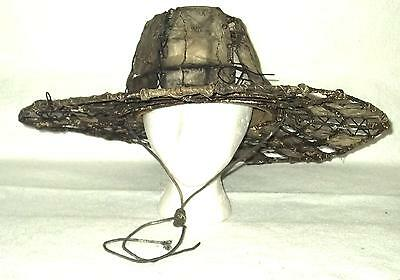 Waterworld Rare Boatpeople  Hat Hand Made Movie Worn