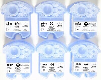 Braun Shaver Clean and Renew Cartridges Refills, CCR 1 2 3 4 5 6 Count Wholesale