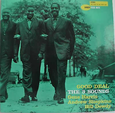 The 3 Three Sounds Good Deal Japan Blue Note LP Toshiba BN 4020 Insert