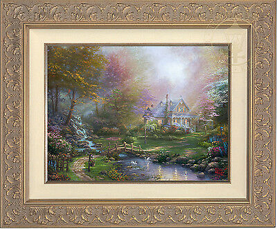 Thomas Kinkade A Mother's Perfect Day 12 x 16 LE S/N Canvas Framed