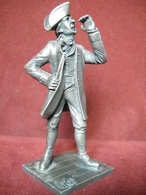 "Franklin Mint Fine Pewter ""The Sea Captain"" 1975"