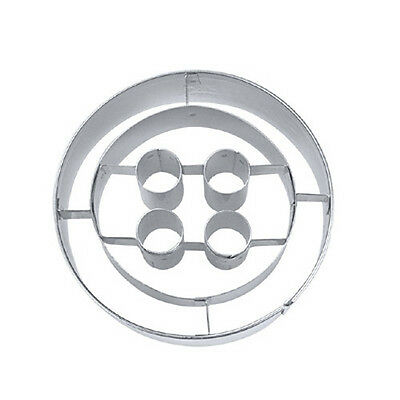 NEW Button with Embossed Detail Cookie Cutter