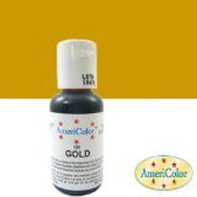 NEW Americolor Soft Gel Paste Icing Color 21.3g Gold