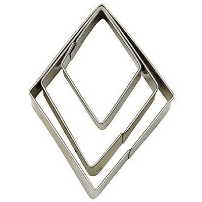 NEW Diamond Set of 3 Cookie Cutters