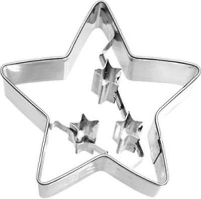 NEW Christmas Star Cookie Cutter 6.5cm