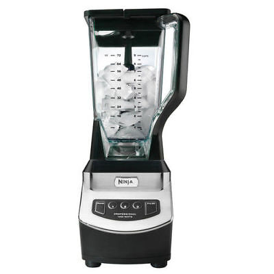Ninja NJ600 1000 Watts Sleek Professional Blender (Dishwasher Safe) New