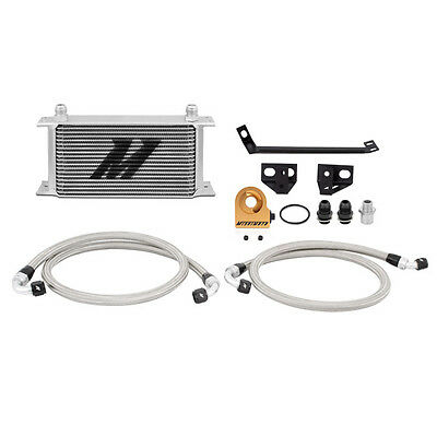 Mishimoto Thermostatic Oil Cooler Kit - Silver - Ford Mustang 2.3 EcoBoost 2015-