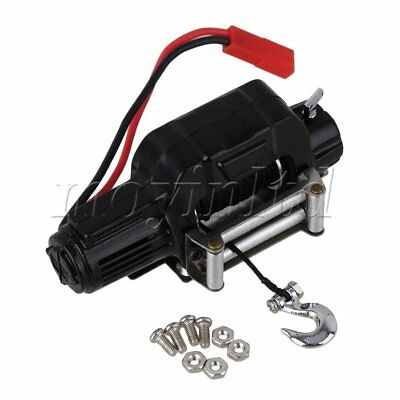 N10197 Aluminum Electric Winch Control System for HSP RC 1:10 Rock Crawler Black