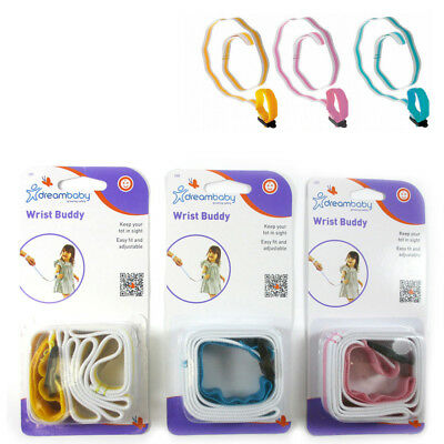 2 Baby Child Anti Lost Safety Wrist Link Toddler Harness Leash Strap Adjustable