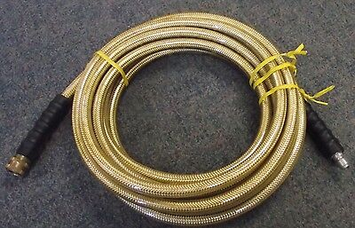 "Legacy Workforce HPW3Q2540CL 4000 psi 3/8"" x 25' Braided Power Washer Hose USA"