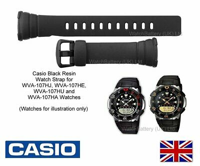 9fc839273abd GENUINE CASIO WATCH Strap Band for WVA-107 WVA107 WVA-107H Watch  Code 729-EA112 - EUR 14