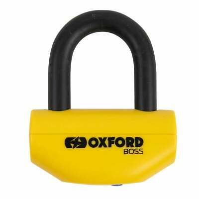 Oxford Motorcycle Security - Boss Disc Lock - 12.7mm Yellow (OF39)