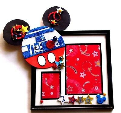 Mickey Mouse R2-D2 Star Wars 2016 Memory Wall Picture Photo Frame
