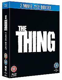 The Thing (Double Pack Including Original) [Region Free] New Region 2 Dvd
