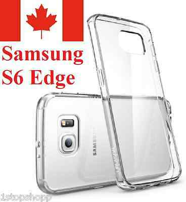 For Samsung Galaxy S6 EDGE Case - Clear Ultra Thin Soft TPU Transparent Cover
