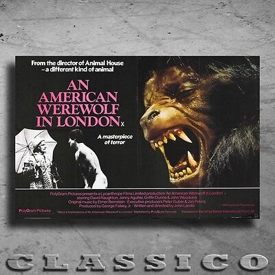 An American Werewolf In London Poster All Sizes Retro Classic #460430