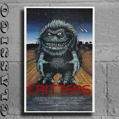 Critters Poster All Sizes Retro Classic #464040