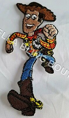 1 Embroidered Toy Story Woody Iron On Sew On Patch Clothes Craft