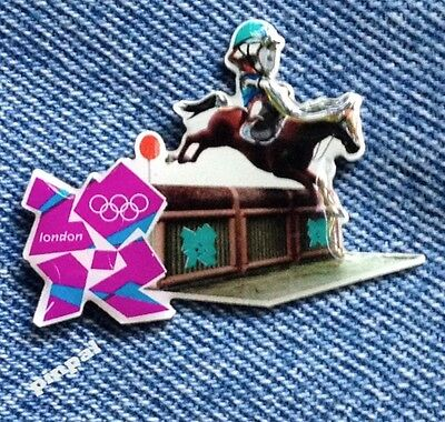 Equestrian Eventing Olympic Pin Badge~2012~Mascot~Wenlock