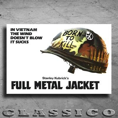 Full Metal Jacket Poster All Sizes Retro Classic #486570