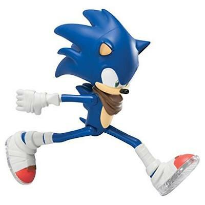 """Sonic The Hedgehog Tomy Sonic W/ Running Action 7"""" Action Figure Toy Game Kids"""