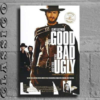 The Good the Bad and The Ugly Poster All Sizes Retro Classic #488140