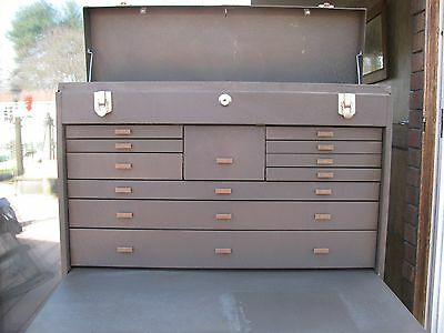 Kennedy 52611  Metal Machinist Tool chest  Box