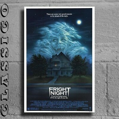 "Fright Night Poster Giant XXL 36"" Retro Classic  #497484"