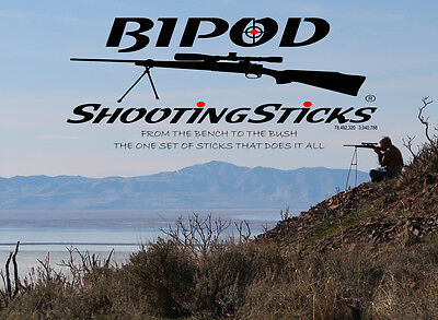 "/""THE ONE SET OF SHOOTING STICKS THAT DOES IT ALL/"" ***** INCLUDES Carry Case ****"