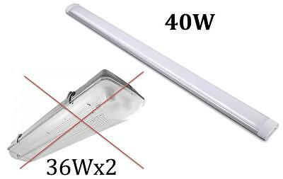 Led Batten Light 40W Super Slim Fluro Light Replacement