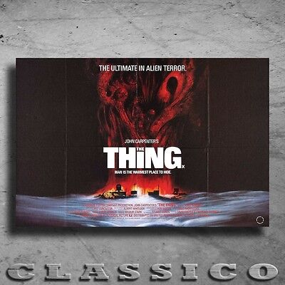 "The Thing Poster Giant XXL 36"" Retro Classic  #499668"