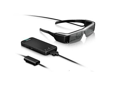 Epson BT-200 Moverio See-Through Mobile Smart Glasses Japan Domestic Version New