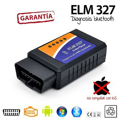 Scaner lector DIAGNOSIS ELM 327 BLUETOOTH OBD2 sin cables android samsung