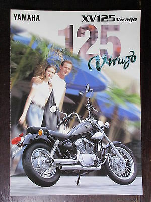 Catalogue Prospectus Brochure  1997 Yamaha  125 Virago