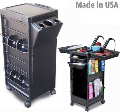 Salon Roll-About Trolley Cart N20-H *non Lockable* W/tool Holder By Dina Meri
