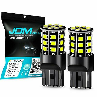 JDM ASTAR 2835 33SMD 7443 7440 6000K White LED Back Up Reverse Light Backup Bulb