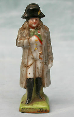 Rare Vintage Napoleon Scheibe Alsbach Porcelain Miniature Figurine Signed