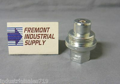 """(Qty of 1) 10,000 PSI 3/8"""" NPT Hydraulic quick coupler nipple (male) (Enerpac)"""