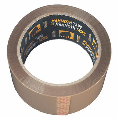 Everbuild 50 Metre Value Packaging Tape Clear 48mm 2