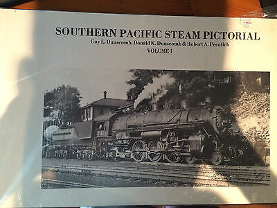 Southern Pacific Steam Pictorial -- Vol 1