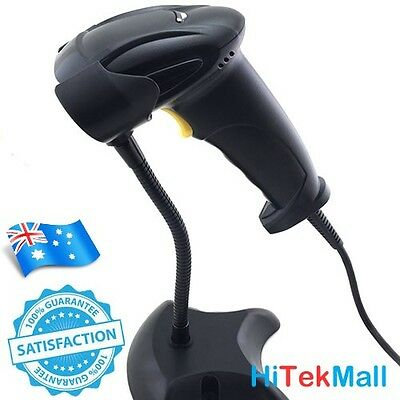 OZ Ship Handheld USB Port Laser Barcode Scanner Bar Code Reader For POS Computer