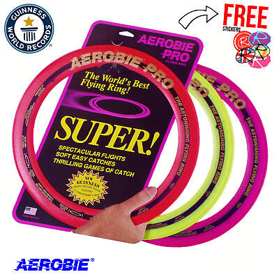 AEROBIE 13″ Pro Flying Ring, Frisbee, Flying Disc ALL COLOURS!